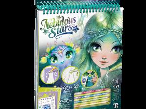 Caiet de schite Nebulous Stars Marinia's Creative Sketchbook