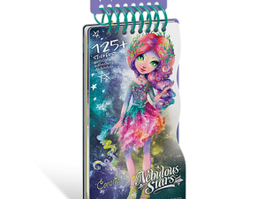 Mini caiet de schite Creatoarea de moda Nebulous Stars Mini Creative Pad - Coralia